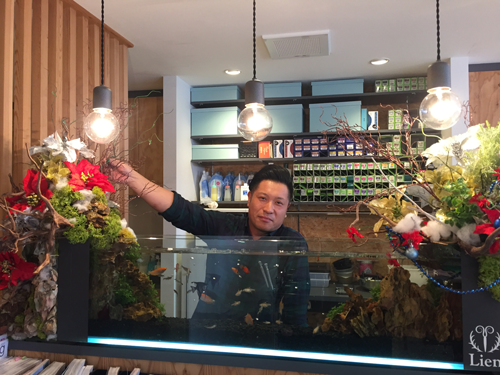 関口 賢二様 美容室Lien様のオーナー兼スタイリスト とても笑顔溢れる方で行動力の塊の様なお人です。